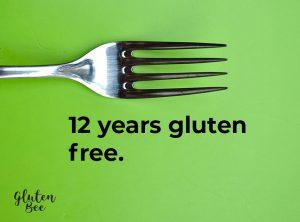 12 Years Gluten Free