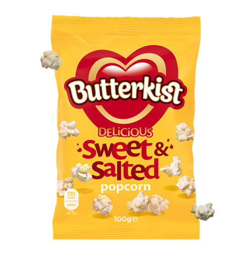 sweet and salted butterkist