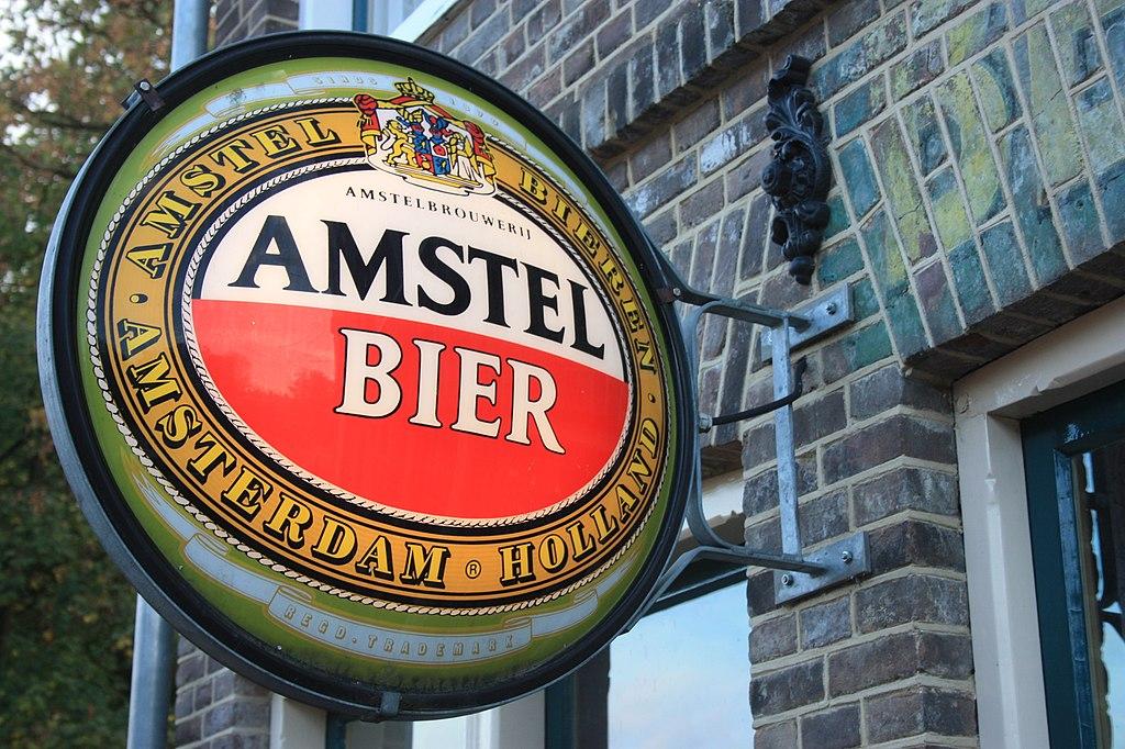 amstel bier brand
