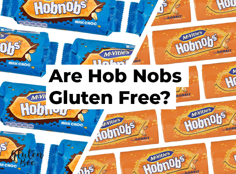 Are McVitie's HobNobs Gluten Free?