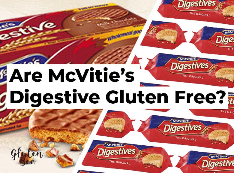 Are McVities Digestive Gluten Free?