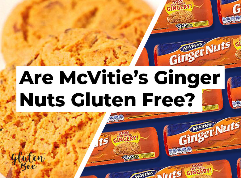 Are McVities Ginger Nuts Gluten Free?