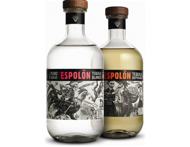 Espolon Tequila Bottles