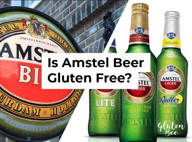 Is Amstel Beer Gluten Free?