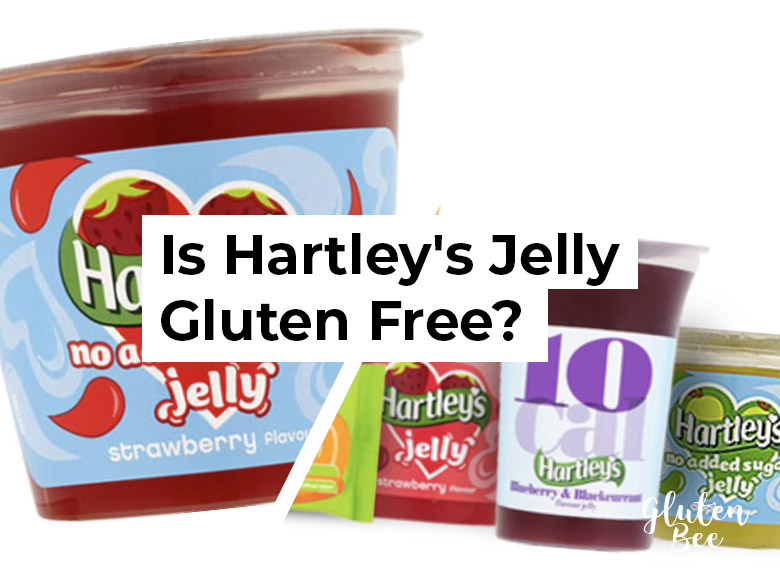 is hartley's jelly gluten free?