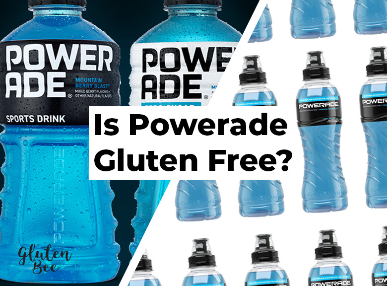 Is Powerade Gluten Free?
