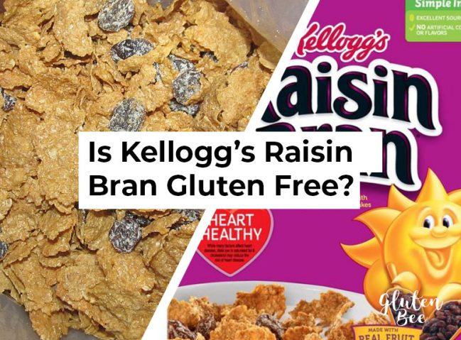 Is Kellogg's Raisin Bran Gluten Free?