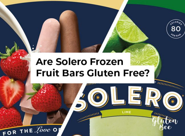 Is Solero Gluten Free?
