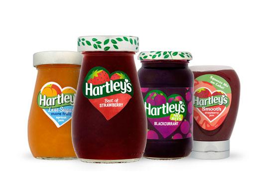 Hartley's Jam Range