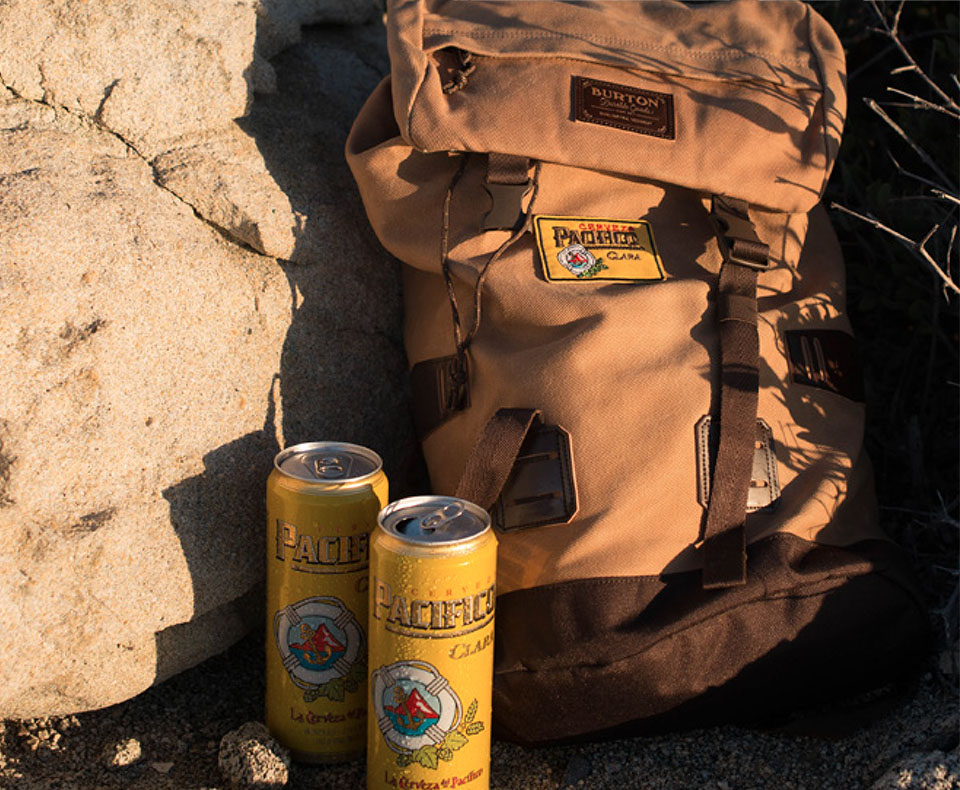 pacifico beer cans