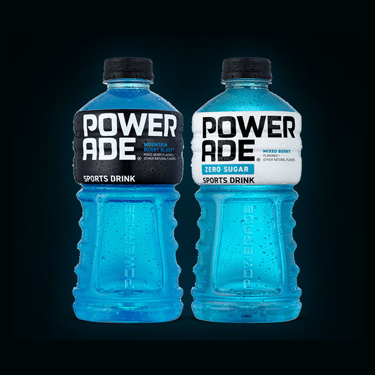 Powerade Bottles