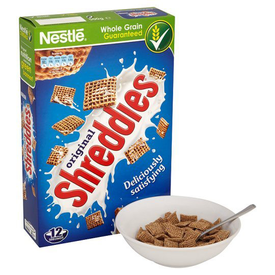 shreddies cereal