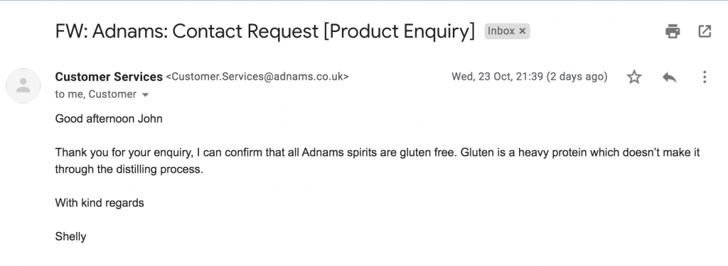 Adnams Email
