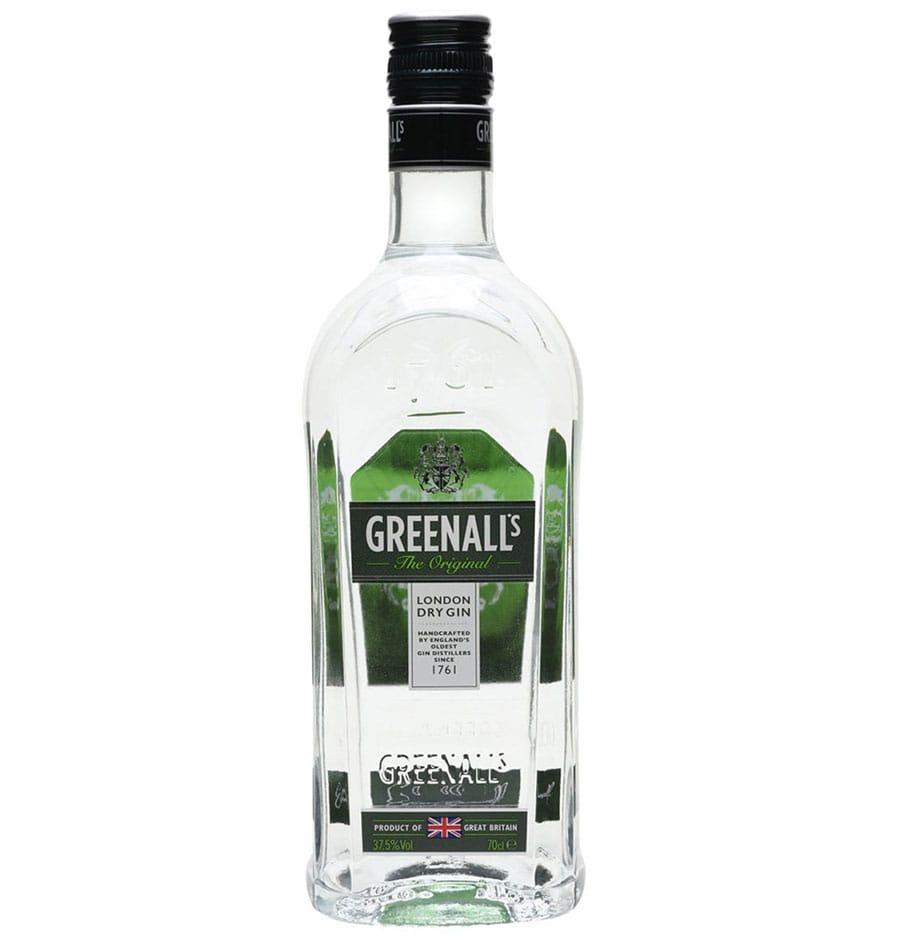 Greenall's Gin Bottle
