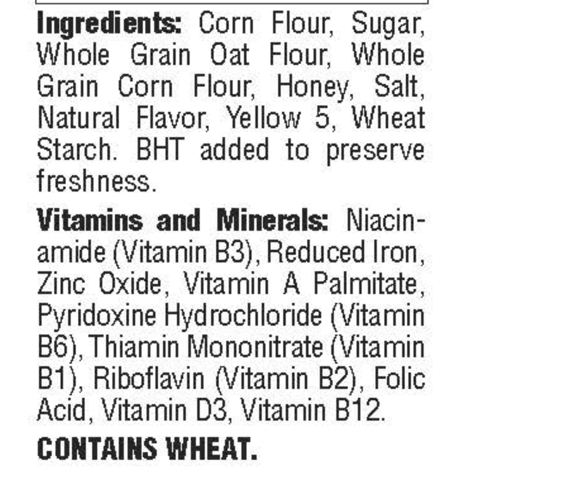 Is Honeycomb Cereal Gluten Free?