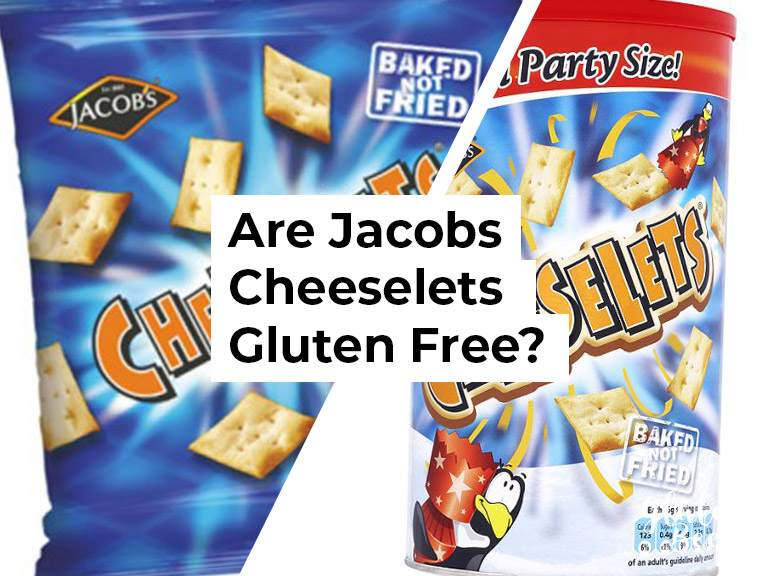 Are Jacobs Cheeselets Gluten Free?