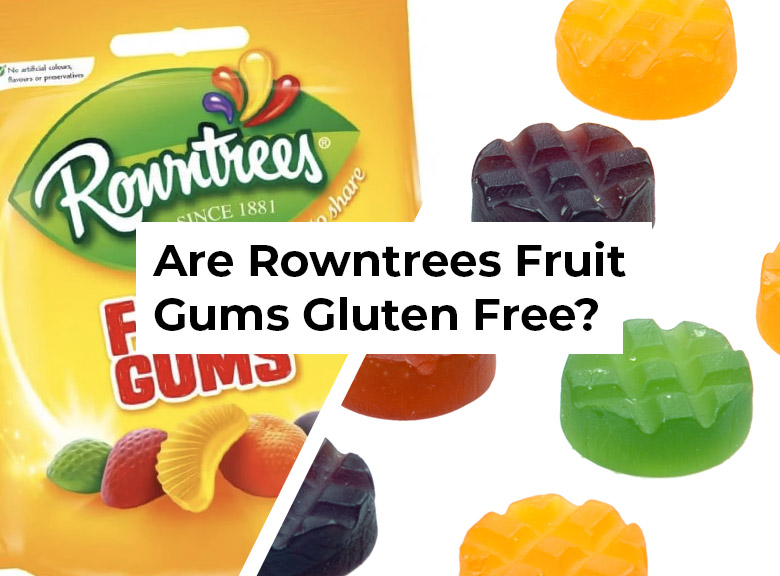 Are Rowntrees Fruit Gums Gluten Free?
