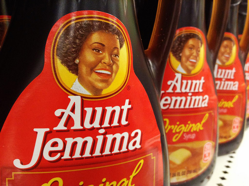 aunt jemima syrups