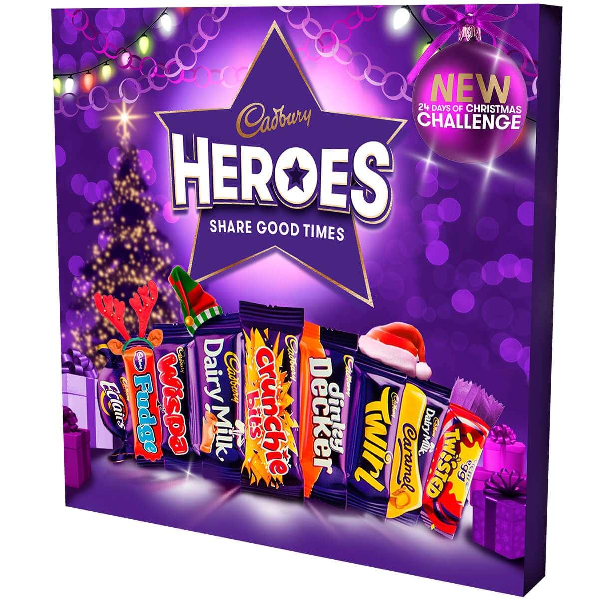 cadbury heroes gift box