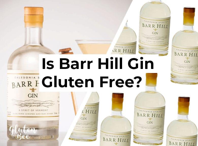 Is Barr Hill Gin Gluten Free?