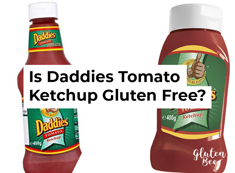 Is Daddies Tomato Ketchup Gluten Free?