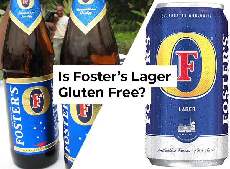 Is Foster's Lager Gluten Free?