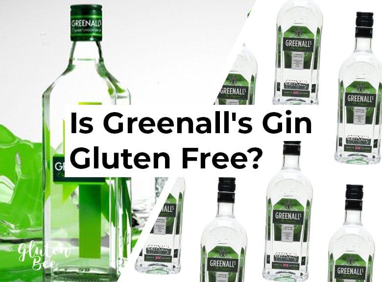 Is Greenall's Gin Gluten Free?