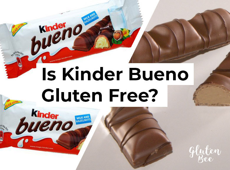 Is Kinder Bueno Gluten Free?