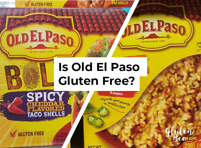 Is Old El Paso Gluten Free?