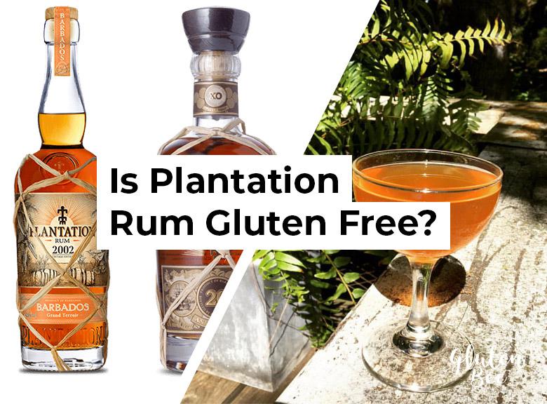 Is Plantation Rum Gluten Free?