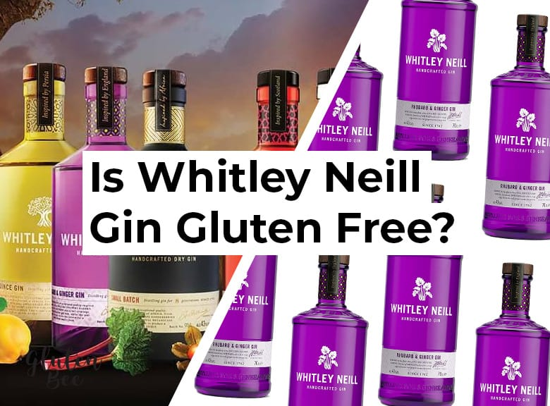 Is Whitley Neill Gin Gluten Free?