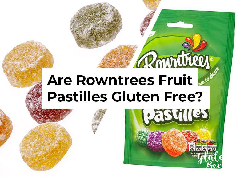 Are Rowntrees Fruit Pastilles Gluten Free?