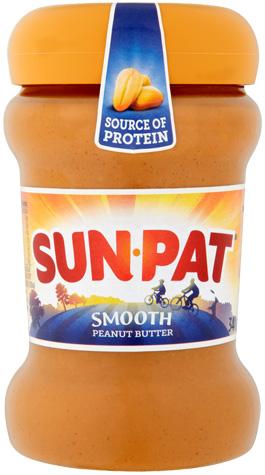 sun-pat smooth peanut butter