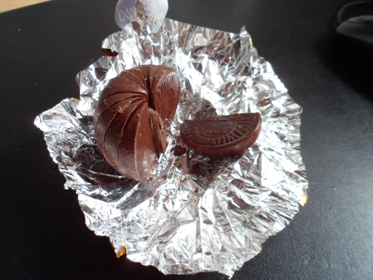 terry's chocolate orange treat
