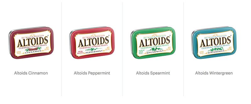 altoids flavors