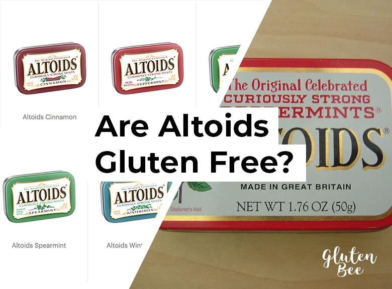 Are Altoids Gluten Free?