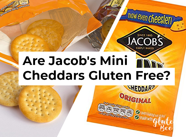 Are Jacob's Mini Cheddars Gluten Free?