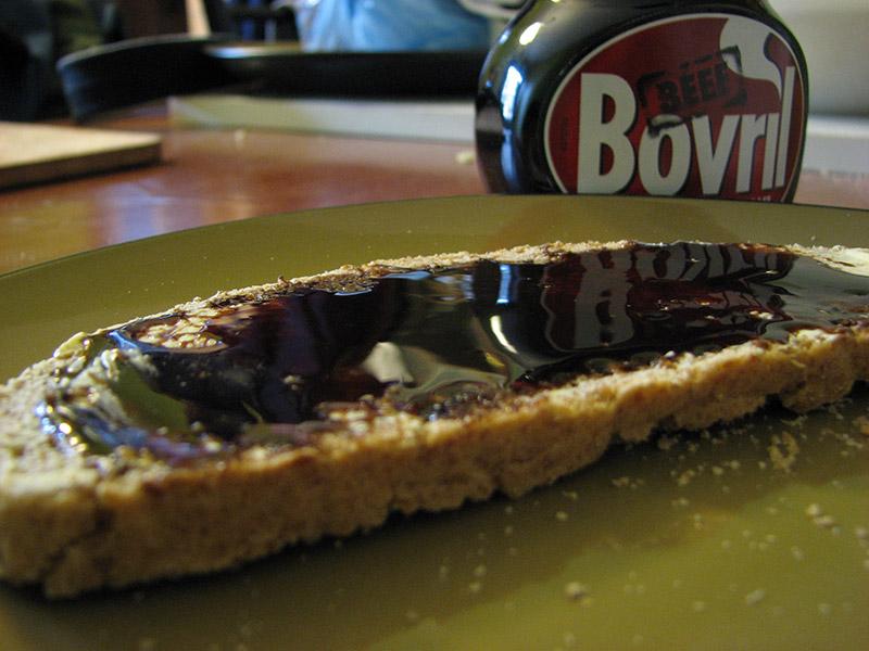 bovril on bread