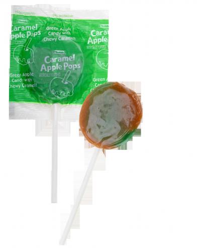green apple caramel apple pop flavor