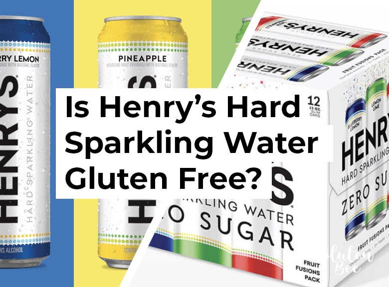 Is Henry's Hard Sparkling Water Gluten Free?