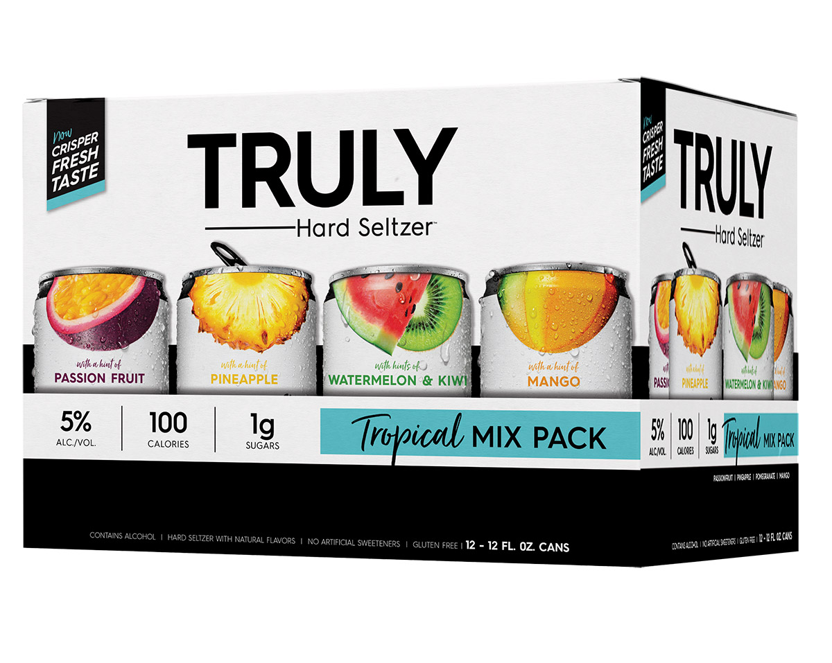 truly topical mix pack hard seltzers