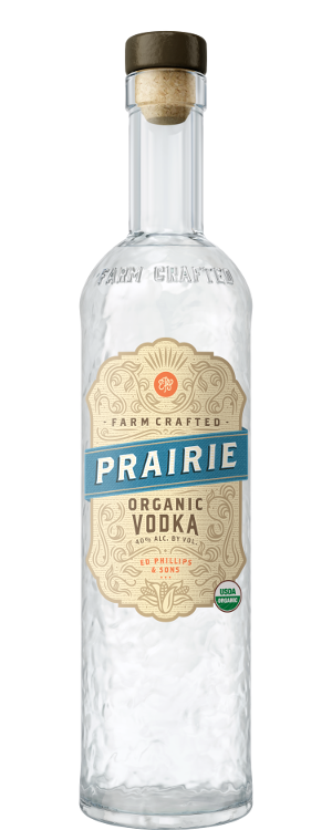 prairie vodka bottle