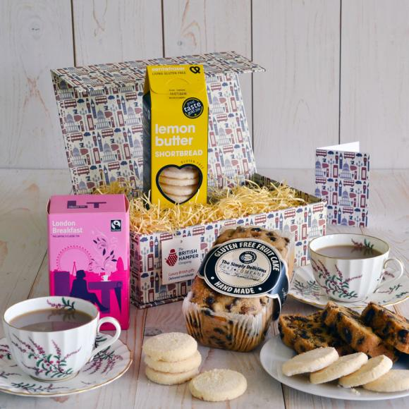 gluten free tea biscuits gift basket