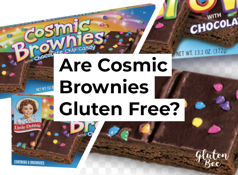 Are Cosmic Brownies Gluten Free?