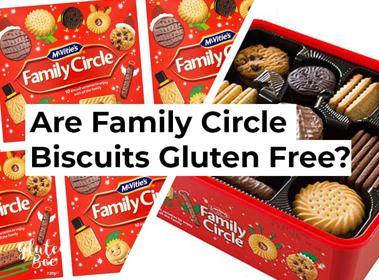 Are Mcvitie's Family Circle Biscuits Gluten Free?