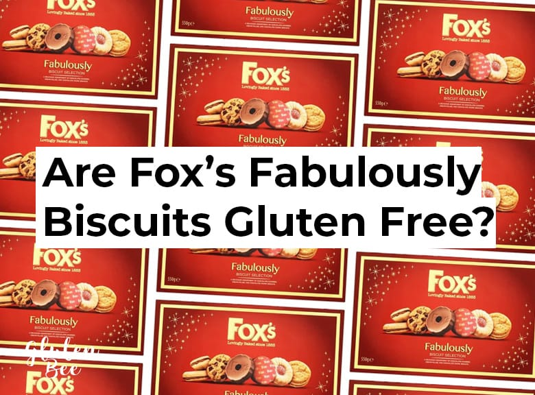 Is Fox's Fabulously Biscuit Selection Gluten Free?