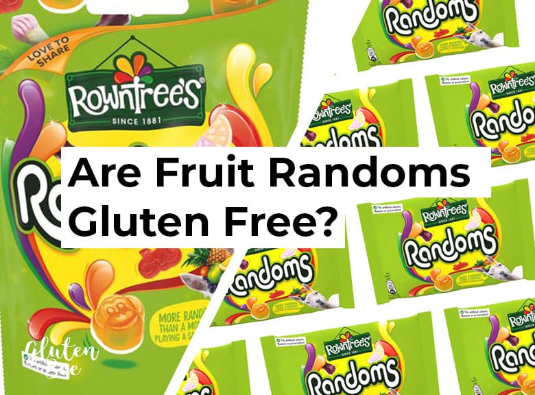 Are Rowntrees Randoms Gluten Free?