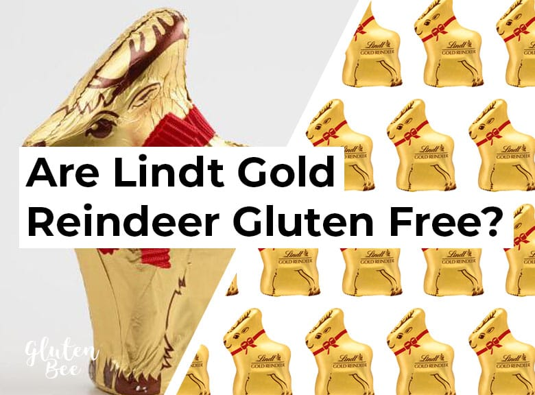 Are Lindt Golden Reindeer Gluten Free?