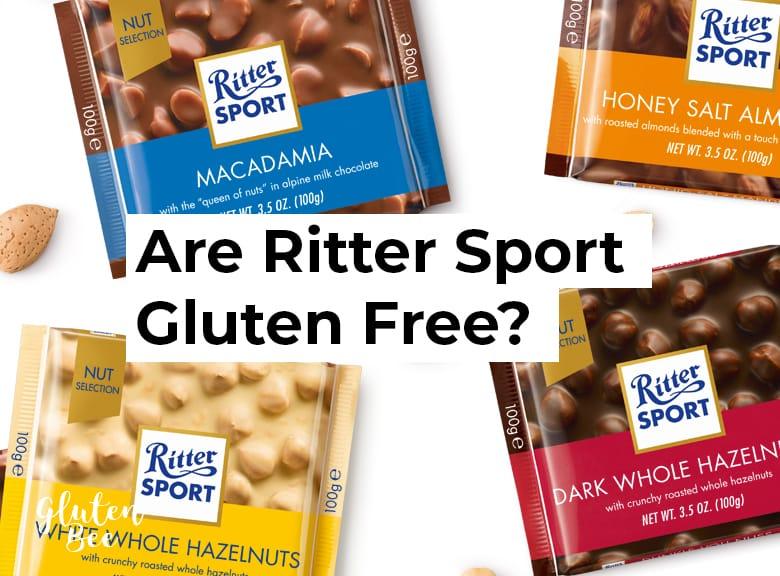 Are Ritter Sport Gluten Free?