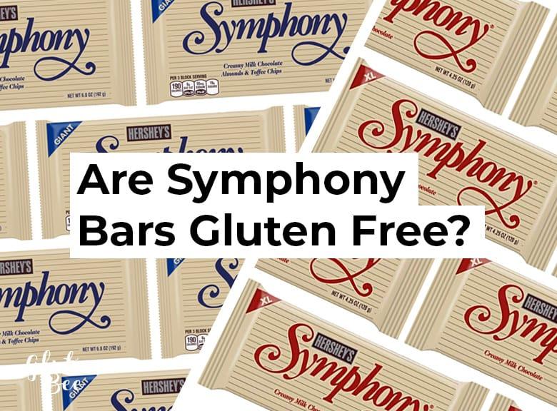 Is Symphony Bar Gluten Free?
